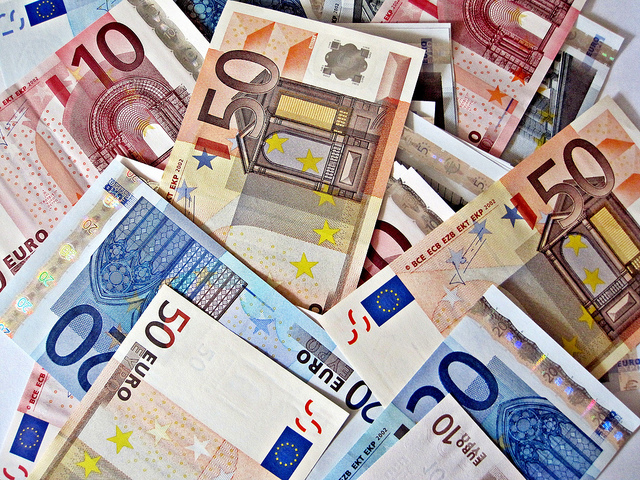 Euro notes by Images_of_Money