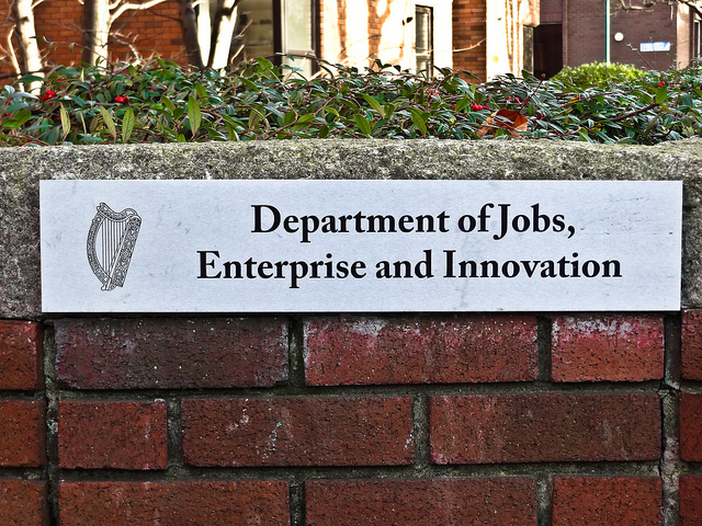 Department of Jobs, Enterprise and Innovation - Photo by UggBoy